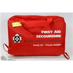 ST JOHN'S AMBULANCE FIRST AID FAMILY KIT