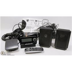 XM SATELLITE RADIO SET - HOME & AUTO