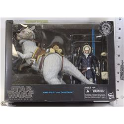 NEW STAR WARS HANS SOLO & TAUTAUN FROM THE