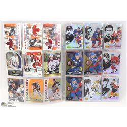 BUNDLE OF 72 RARE COLLECTORS NHL CARDS