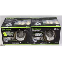 TWO YARD MASTER OUTDOOR FLOODLIGHT KITS