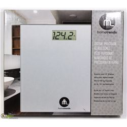 HOMETRENDS DIGITAL PRECISION GLASS SCALE