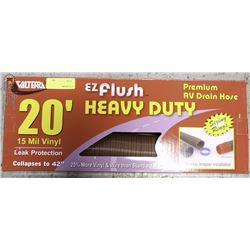 VALTERRA 20FT EASY FLUSH HD RV DRAIN HOSE