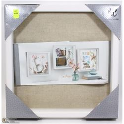 "HOMETRENDS SHADOW BOX 12"" X 12"""