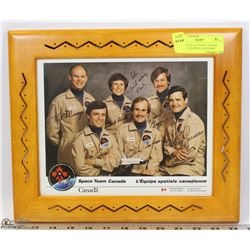VINTAGE SPACE TEAM CANADA GROUP, CANADIAN ASTRONAUT