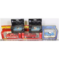 LARGE COLLECTION OF FORD THUNDERBIRD DIE CAST