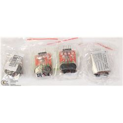 LOT OF 4 LOW VOLTAGE BUZZER FOR 2S/3S/4S LIPO