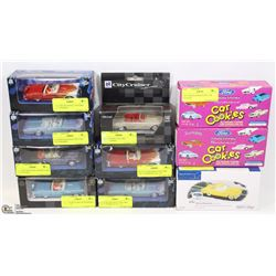 COLLECTION OF FORD THUNDERBIRD DIE CAST,