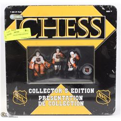 "NEW NHL ""COLLECTOR'S EDITION"" CHESS SET"