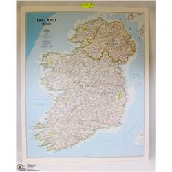 MAP OF IRELAND MOUNTED