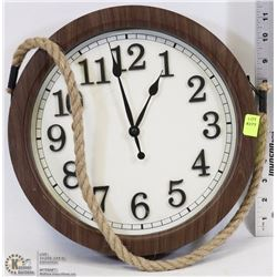 SHIP STYLE WALL CLOCK