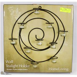 NEW HOMELIVING TEALIGHT WALL HOLDER