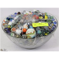 VINTAGE ASSORTMENT OF MARBLES