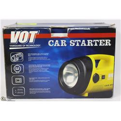LOT VANGUARD OF TECHNOLOGY CAR STARTER KIT,