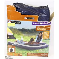 OZARK TRAIL QUEEN SIZE AIR HEAD MATTRESS