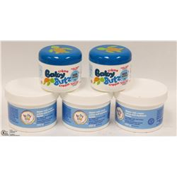 NEW LIFE BRAND DIAPER RASH CREAM SET OF 3, 250G
