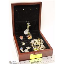 TRI-COASTAL JEWELRY BOX FILLED