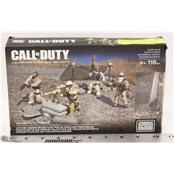 "MEGA BLOKS ""CALL OF DUTY"" COLLECTOR CONSTRUCTION"