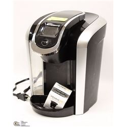 KEURIG 2.0 COFFEE MACHINE WITH REFILLABLE K-CUP