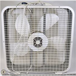 4 SPEED SQUARE FLOOR FAN