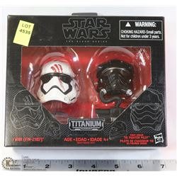 NEW STAR WARS TITANIUM 'FINN TIE FIGHTER PILOT'