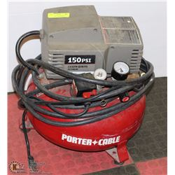 PORTER CABLE 2.6 SCFM 2HP 6 GALLON AIR COMPRESSOR