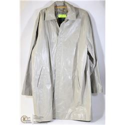 MENS 3/4 LENGTH DANIER LEATHER COAT SIZE LARGE