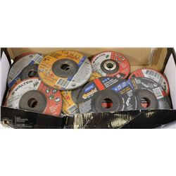 40 ASSORTED GRINDING DISCS INCL NORTON & WALTER
