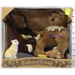 COLLECTORS CHOICE BEAR JEWELRY BOX SET SEALED