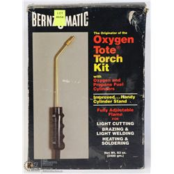 BENZOMATIC OXYGEN TOTE TORCH PROPANE KIT IN A BOX