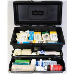 FIRST AID KIT IN TOOL BOX WITH TRAY
