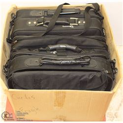 BOX OF 4 LAPTOP BAGS - DEL, EDDIE BAUER,