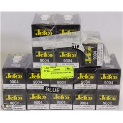 LOT OF 15 JETCO 9004 BLUE BULBS
