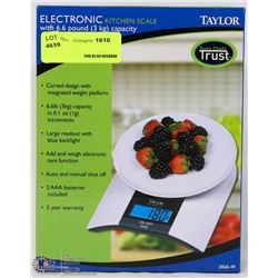TAYLOR ELECTRONIC KITCHEN SCALE