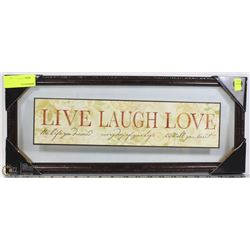 LIVE LAUGH LOVE WALL HANGING