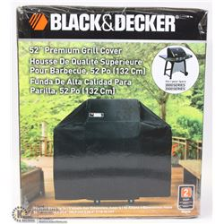 "BLACK & DECKER 52"" PREMIUM GRILL COVER"