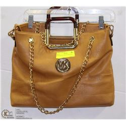 REPLICA MICHAEL KORS TAN HAND BAG