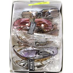 BOX OF QUALITY DESIGNER SUNGLASSES