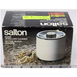 SALTON SONIC JEWELRY CLEANER