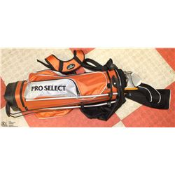 PROSELECT CHILDREN'S GOLF SET