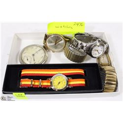 COLLECTION OF 5 WATCHES INCLUDING WESTCLOX