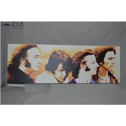 "Large canvas giclee of ""The Beatles"""