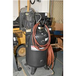 Sanborn air compressor-230 volt, 140 max PSI with extra hose