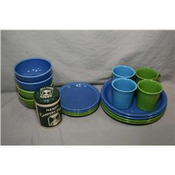 Selection of new in box Fiesta ware including two three pieces sets of blue and two three piece sets