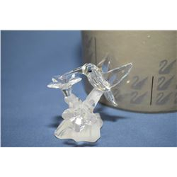 "Swarovski crystal ""Hummingbird"" 7615NR, 2 1/2"" in height with original packaging"