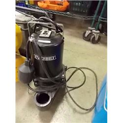 EVERHILT SUBMERSABLE SEWAGE PUMP - PS