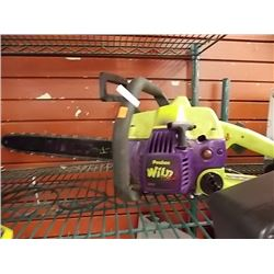GAS CHAINSAW - POULAN WILD THING - PS