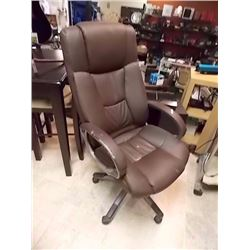 EXECUTIVE OFFICE CHAIR - SOME ARM WEAR