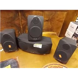 POLK AUDIO SPEAKERS - 4PC - PS