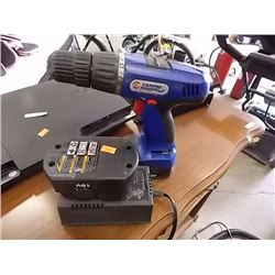CORDLESS DRILL, BATTERY & CHARGER - 18 VOLT - PS
